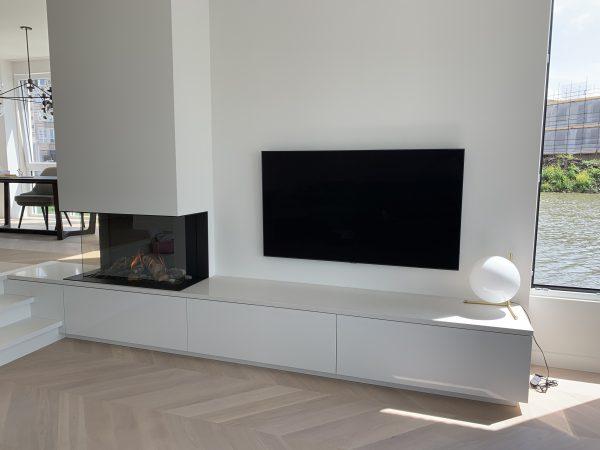 """Project Vleuten """" Openhaard meubel """""""