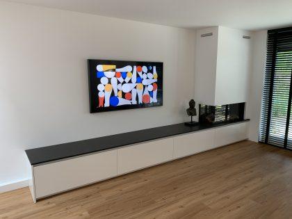 """Project de Meern """" Openhaard meubel """""""